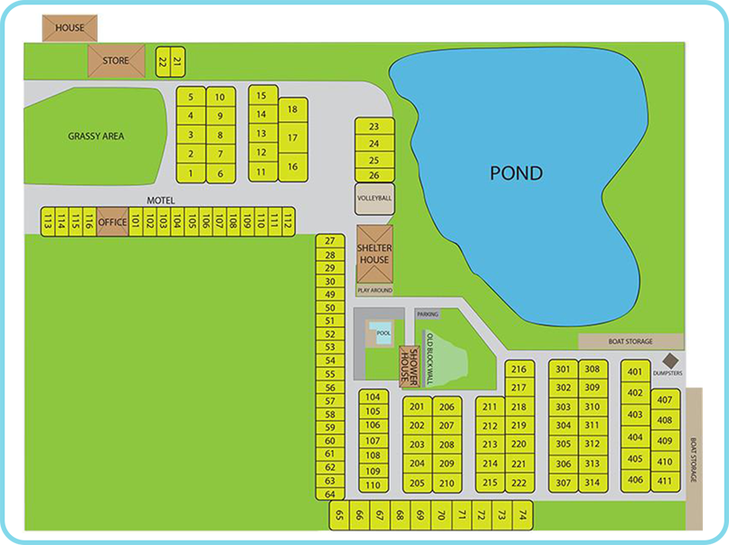 surf motel campground map